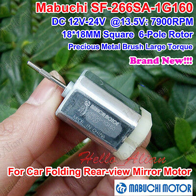 Mabuchi Sf-266sa-1g160 Dc 12v 24v 18mm18mm Square 6-pole Rotor Mini Dc Motor