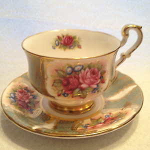 Large Collection of Fine China Plates, Tea Cups, Swans,