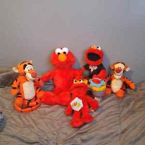 Battery Operated Elmo's and Tigger's