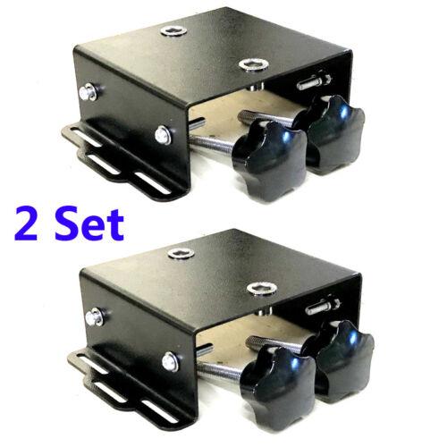 2 pcs Screen Printing Pallet Bracket / Removable Pallet Tool with Screws Black