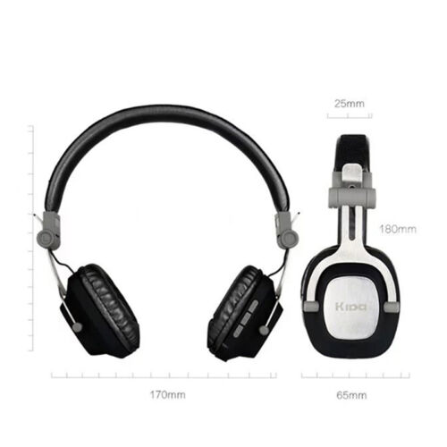 kida bluetooth cordless headphones wireless earphone tv headset wired headphone. Black Bedroom Furniture Sets. Home Design Ideas