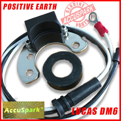 Fits LUCAS DM6 Distributor - Electronic Ignition 6 CYL MODELS - Positive Earth