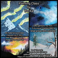 Painting Classes by Becka