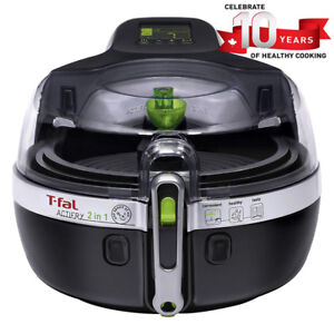 T-Fal YV960151 ActiFry 2 in 1 Air Fryer, Automatically Stirs