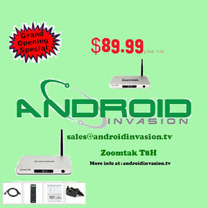 Android TV Box  Zoomtak T8H ** $89.99** Limited Time Special**