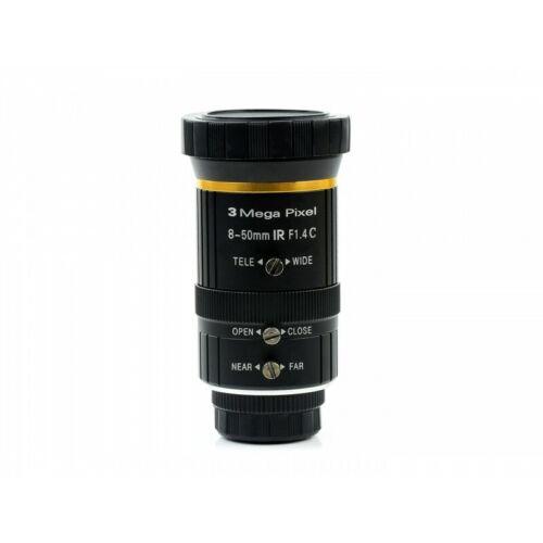 8-50mm Zoom Lens for Raspberry Pi High Quality Camera C-Mount