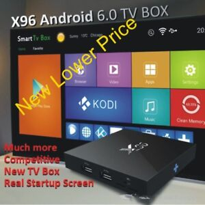 X96 Android /TV Box, Fully Programmed and Ready to Hook Up