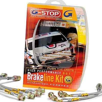 Goodridge G Stop Stainless Brake Line Kit for Nissan 350Z 03 07 All 22074