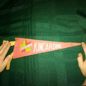 "Vintage ""Kincardine, Canada"" Pennant London Ontario image 1"