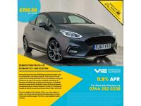 2018 67 FORD FIESTA ST-LINE TURBO PREMIUM SOUND APPLE CAR PLAY SERVICE HISTORY