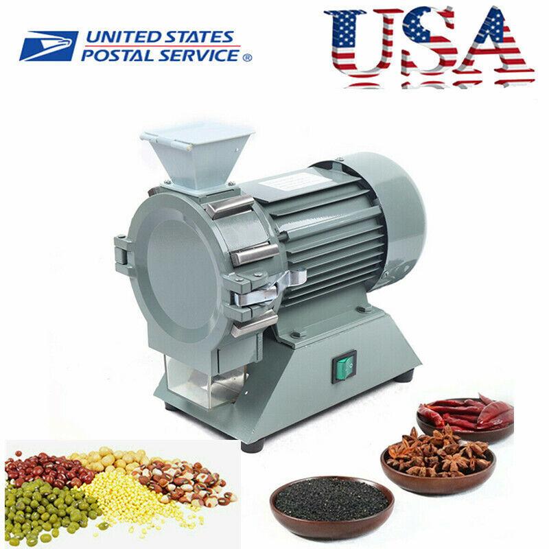 Micro Plant Grinding Machine Pulverizer Herb Grinder Spice Mill Grinder 1400RPM