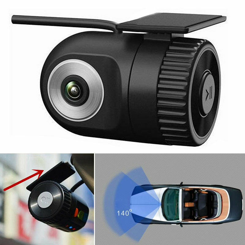 Mini Car DVR Video Recorder Night Vision Dash Cam HD 1080P V