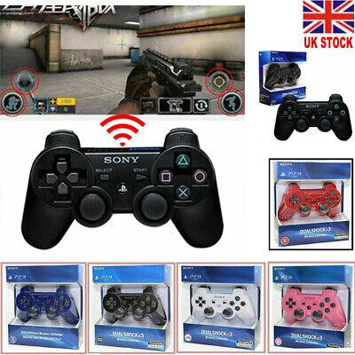 Wireless Dualshock Bluetooth Controller Joystick for PS3 Playstation 3 UK