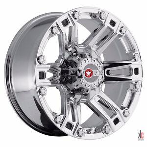 """Roues 20"""" Wheels Ford F150 Silverado Sierra Mag Chrome Rims 20"""