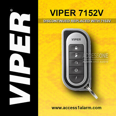 Viper 7152V 1-Way 5-Button Replacement Remote Control Transmitter EZSDEI7152
