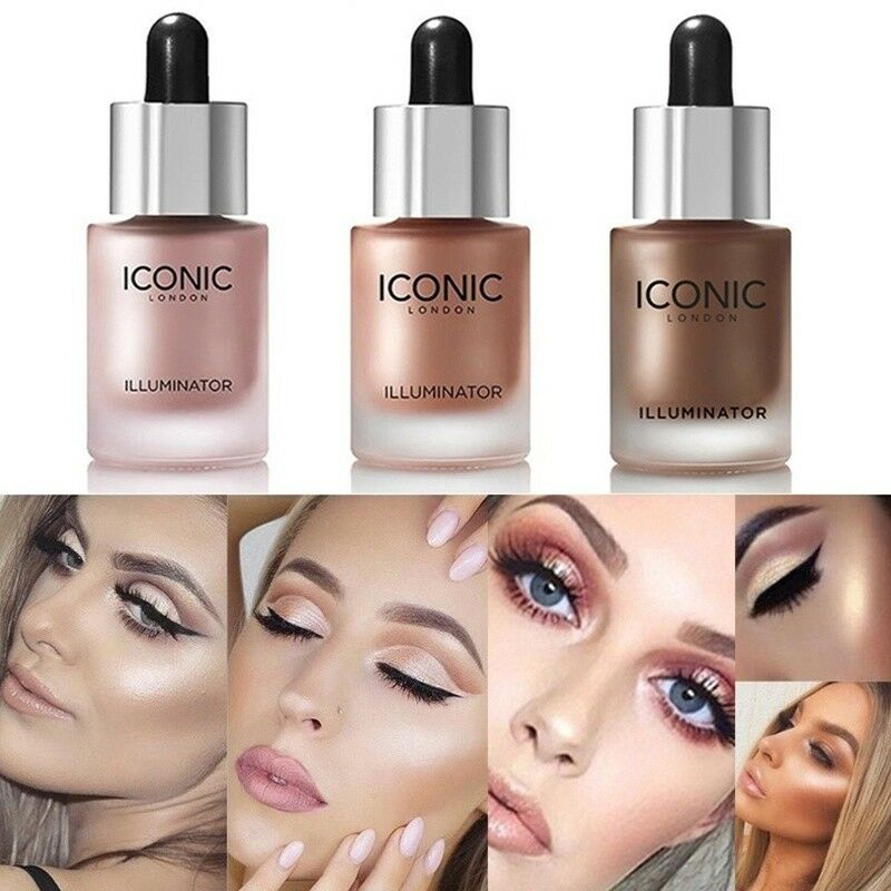 uk iconic london illuminator drops face cream liquid make