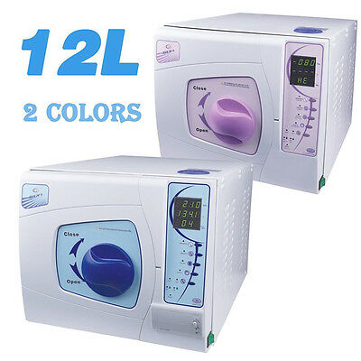 SUN 12L Professional Dental Medical Vacuum Steam Autoclave Sterilizer + Printer for sale  China