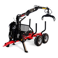 Farmi Forest 70 Trailer with 2751 Grapple or 2741 Grapple