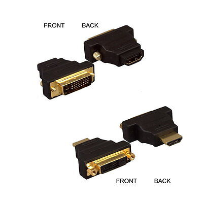 Dvi Digital Hdtv (HDMI to DVI-D Digital Dual Link Male/Female Adapter LCD LED HDTV Monitor)