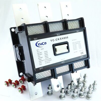 Yuco Yc-cn-eh800-3 Magnetic Contactor Fits Abbasea Eh800c 220240vac Coil