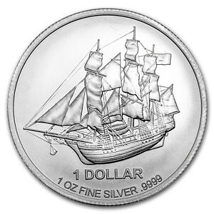 Pièce en argent/silver bullion 2017 Cook Islands 1 oz Bounty