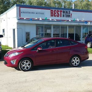 2011 Ford Fiesta SEL Sedan Low Kms!!! Fully Loaded