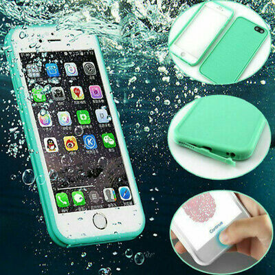 360° Waterproof Rubber Case For iPhone 6S X 10 8 7 6 Plus XS XR Shockproof Cover