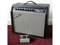 Fender Super Champ X2 Valve Amplifier Combo with Footswitch