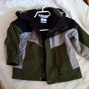 Boys 3T Columbia 3 in 1 Winter Jacket
