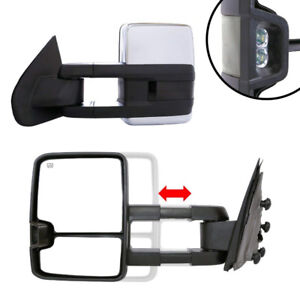 NEW OEM Style Towing Mirrors for Chevy Silverado / GMC Sierra