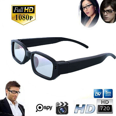 New Hd 720p Spy Camera Glasses Hidden Eyewear Dvr Video Recorder Cam Camcorder 0