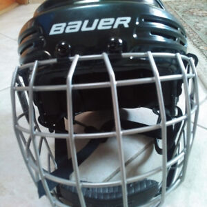 NEW YOUTH BLACK BAUER HELMET