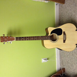Electric acoustic  Academy guitar