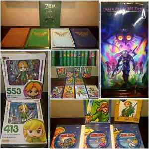 ZELDA COLLECTION ( BOOKS / FIGURINES / GAMES )