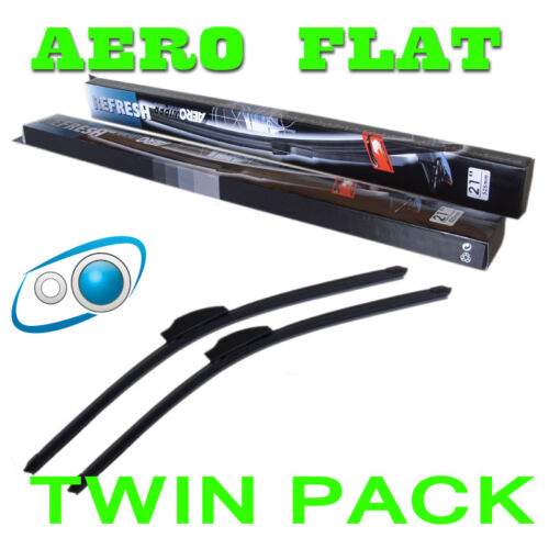 22/20 Inch Aero Flat Windscreen Wipers Blades Lexus Is 220 250 350 05+