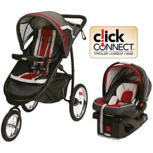 Graco Click connect jogging travel system