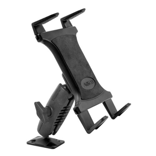 Adjustable Heavy-duty Drill Base for Apple Samsung LG Tablet Mount in Car Truck