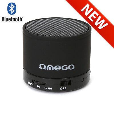 """OMEGA """"OG47 - Moovo"""" Bluetooth Lautsprecher (mit FM-Radio) """"3in1"""" - schwarz"""
