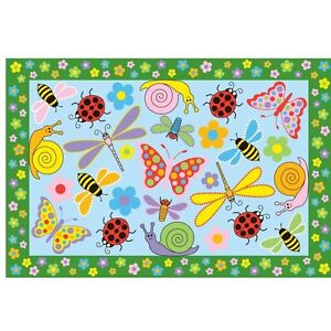 Fun Rugs Fun Time Exotic Creatures Kids Rug 3'3x4'10