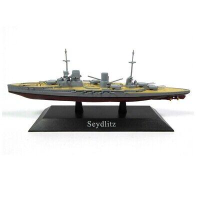 Seydlitz Barco de Guerra 1:1250 Acorazado Diecast Agostini *44