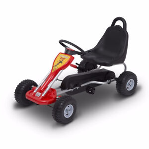Pedal Go-Kart with adjustable Brakes / Wheel toy Rider for kids