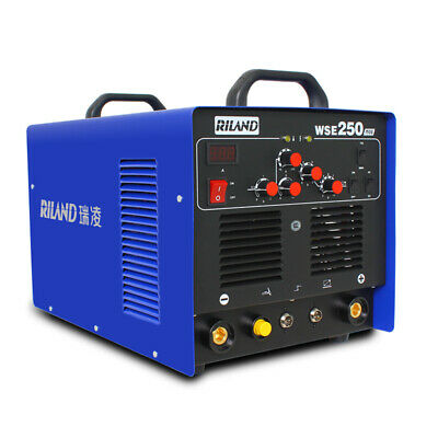 Wse-250 220v Ac Dc Tig Mma Welding Machine For Stainless Steel Aluminum Welder