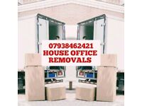 24/7☎ MAN AND VAN REMOVAL MOVING DELIVERY SERVICE HIRE WITH A LUTON TRUCK FURNITURE MOVERS