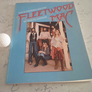 Fleetwood Mac, The Authorized History, by Samuel Graham, 1978 Kitchener / Waterloo Kitchener Area image 1