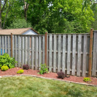 COMPLETE FENCE REPAIR / POST REPLACEMENT