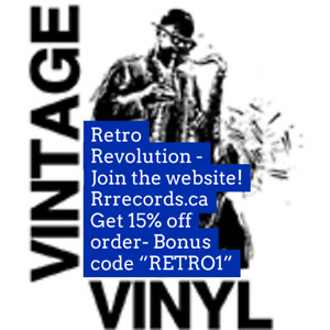 RETRO REVOLUTION RECORDS ~ The Maritimes Vinyl Record Website !
