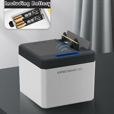 Automatic Electric Toothpick Box Holder Container Portable Toothpick Dispenser
