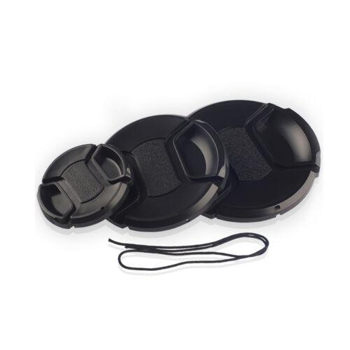 как выглядит Набор аксессуаров для фотоаппаратов или видеокамер 40.5-82mm Pinch Front Lens Cap Cover for Tamron Sony Nikon Canon Tokina Sigma фото