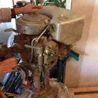 Antique 1930 32 hp Johnson motor
