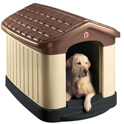 Tuff-n-Rugged Dog House Large Pet Shelter Kennel All Weather New ()
